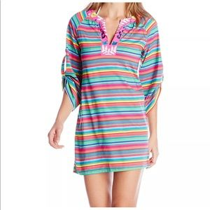 NWT- NANETTE LEPORE PINK COVER-UP